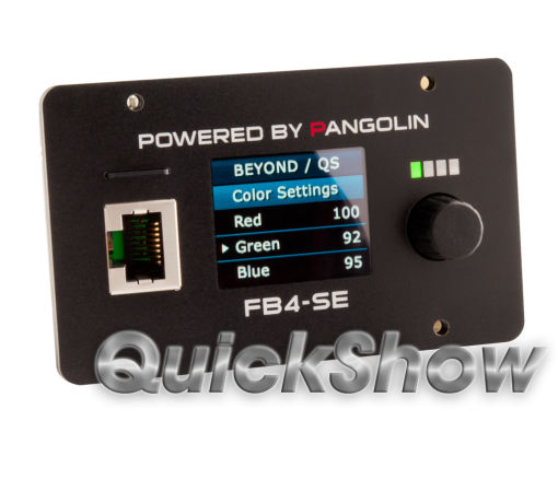 Pangolin QuickShow FB4 presented by GT-TECH