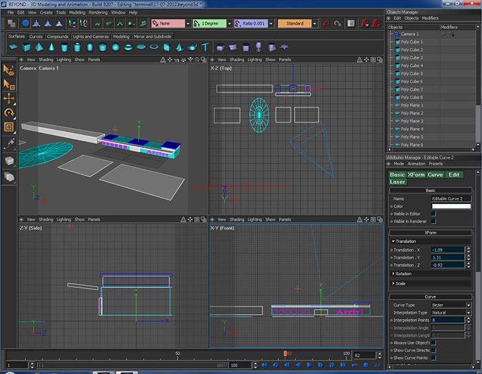 Laserdesigner Pangolin Beyond Screenshot