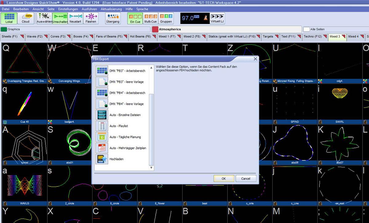 Pangolin QuickShow Upload auf FB4 SD Karte