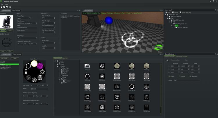 Realizzer 3D Studio Visualisierung Software