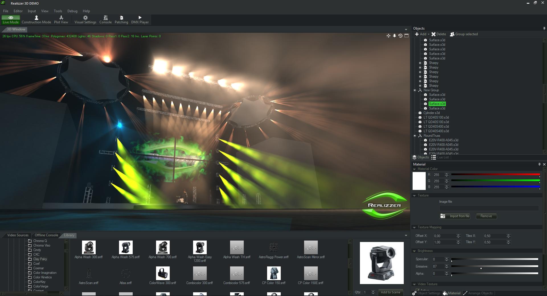 Realizzer 3D Software, powered by Pangolin & GT-TECH