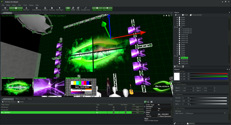 Realizzer 3D Software, powered by Pangolin & GT-TECH