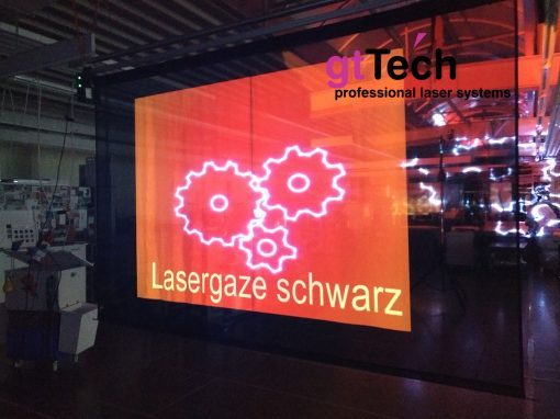 Lasergaze-schwarz_Video-Beamer_GT-TECH-DMX-Motorleinwand