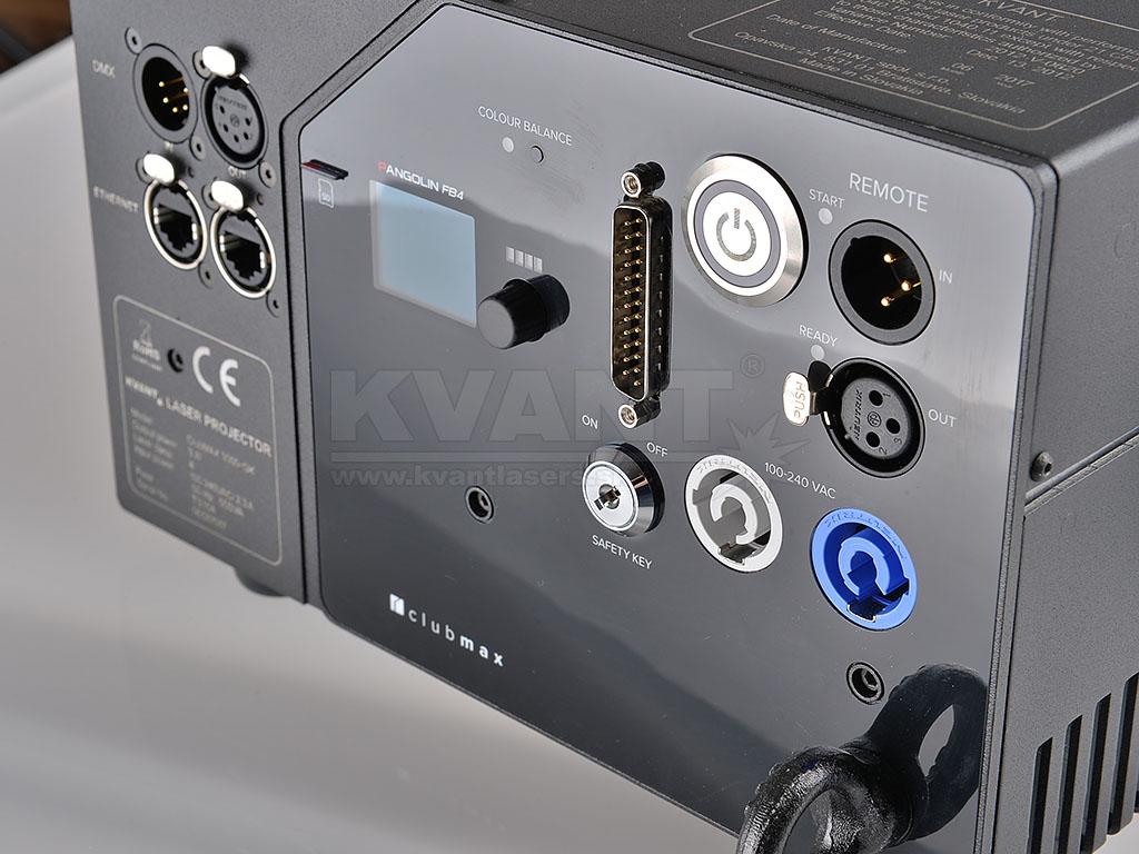 Kvant Laser ClubMax 3000 FB4 RGB