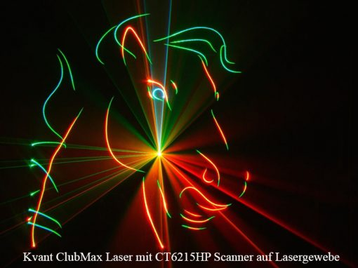 Lasergaze schwarz von GT-TECH LASER