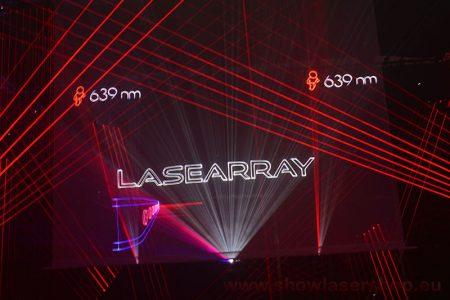 Lasergaze weiß