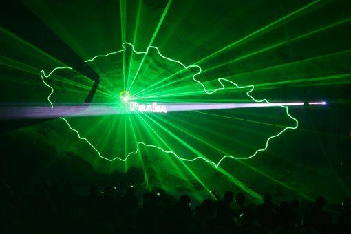 Lasergaze weiß von GT-TECH LASER3