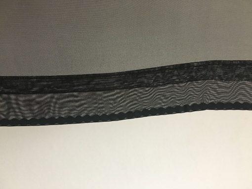 Projektionsgewebe mit Tasche und Bleikordel unten
